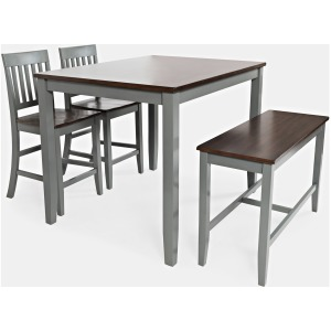 Decatur Lane 4 Pack Counter Height Dining Set - Grey