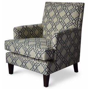 Aubrey Accent Chair - Midnight