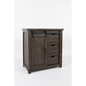"Madison County 32"" Barn Door Accent Cabinet"