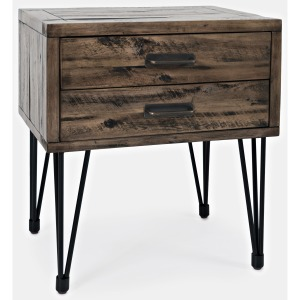 Blackstone 2-Drawer End Table