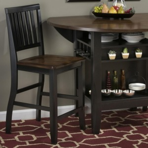 Braden Birch Counter Height Chair for Pub and Restaurant Styled Dining