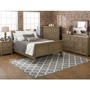 Slater Mill Pine Queen Bedroom Group