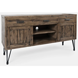 "Blackstone 60"" 3-Drawer and 2-Door Media Console"