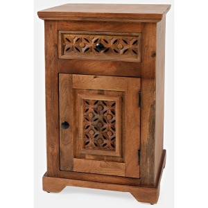 Global Archive Decker Cabinet Accent Table