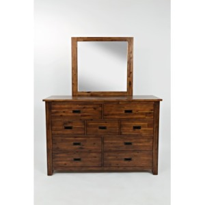 Coolidge Corner Coolidge Corner 9 Drawer Dresser and Mirror Set