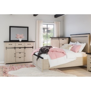Madison County 3 PC Queen Bedroom Set
