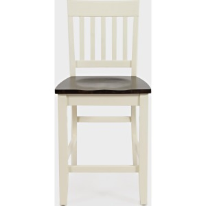 Decatur Lane Counter Stool - White