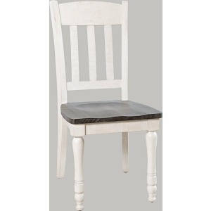 Madison County Slat Back Dining Chair - Vintage White