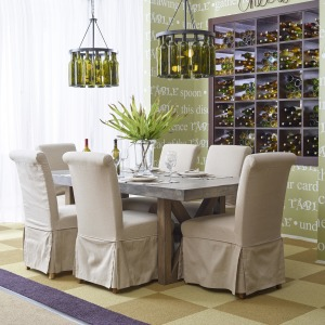 Boulder Ridge Rectangle Dining Table Set