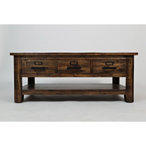 Cannon Valley Cannon Valley Three Drawer Cocktail Table