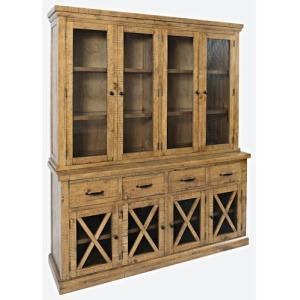 Telluride Sideboard & Hutch w/Touch Light