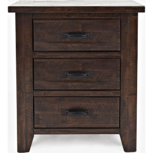 Jackson Lodge 3 Drawer Master Nightstand