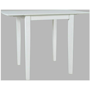 Eastern Tides Drop Leaf Counter Table - Blanc