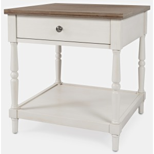 Grafton Farms End Table with Drawer