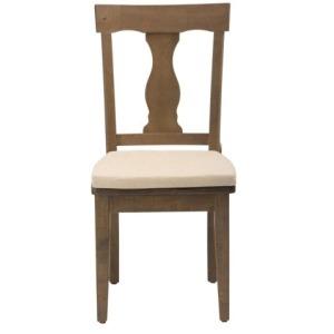 Slater Mill Pine Reclaimed Pine Splat Back Dining Chair