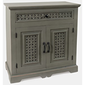 "Global Archive Decker 32"" Console - Antique Gray"