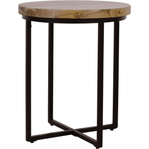 Ames Round End Table