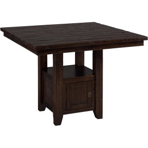 Kona Grove Fixed Pub Table with Storage Base