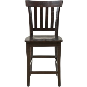 Prospect Creek Slat Back Stool