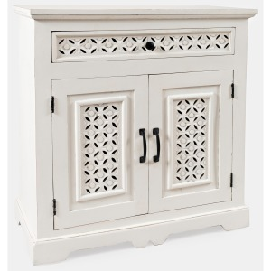 "Global Archive Decker 32"" Console - Antique White"