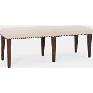 Fairview Backless Dining Bench - Oak