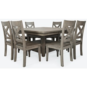 Outer Banks Hi/Low Storage Dining Table with 6 Stools