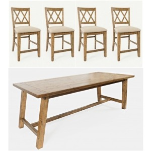 Telluride 5 PC Counter Height Dining Set