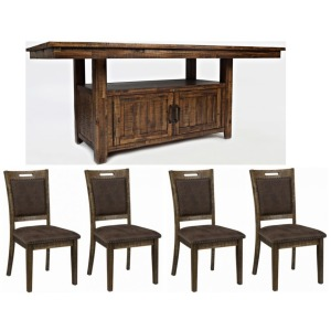 Cannon Valley 5 PC High/Low Table and Chair Set