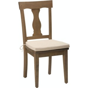Slater Mill Pine Splat Back Dining Chair