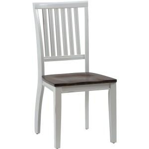 Braden Birch Slat Back Dining Room Table Side Chair