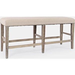 Fairview Backless Counter Bench - Ash