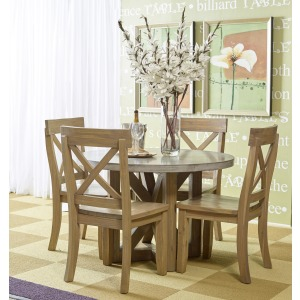 Boulder Ridge Round Kitchen Table Set