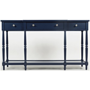 "Stately Home 60"" Console - Navy"
