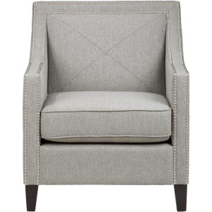 Easy Living Luca Club Chair with Nail Head Trim