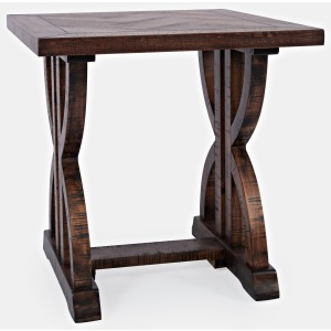Fairview End Table - Oak