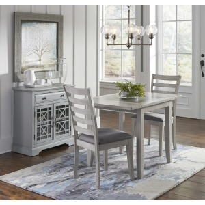Sarasota Springs Drop-Leaf Table and 2 Chair Set