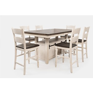 Madison County 7PC High/Low Dining Set