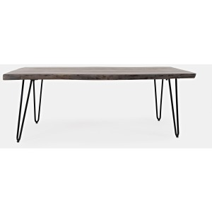 Nature's Edge Coffee Table - Brushed Grey