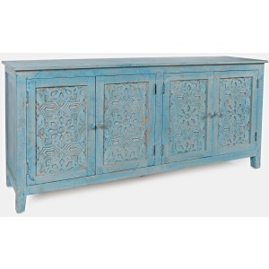 Global Archive Chloe 4 Door Accent Cabinet