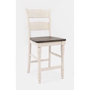 Madison County Ladderback Counter Stool