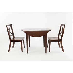 Everyday Classics Drop Leaf Table and 2 Chair Set