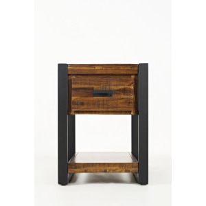 Loftworks Chairside Table with Drawer
