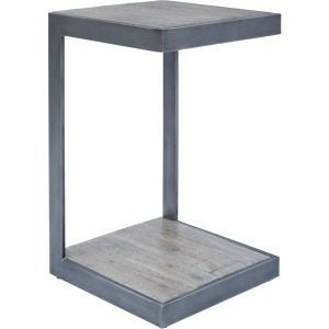 Global Archive Stella C-Table - Antique Grey