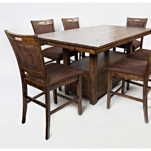 Cannon Valley 5 PC High/Low Table and Stool Set