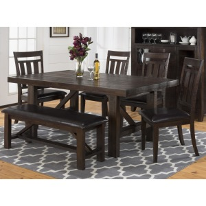 Kona Grove Dining Table, Chair and Bench Set