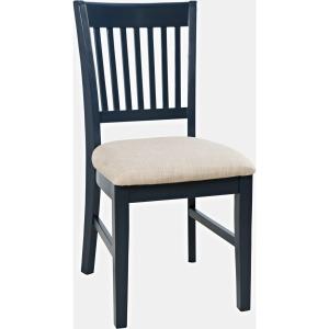 Craftsman Desk Chair - Navy Blue