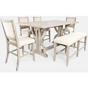 Fairview 6 PC Counter Height Dining Set