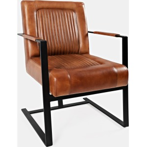 Maguire Leather Accent Chair
