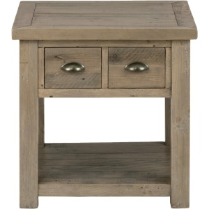 Slater Mill Pine End Table made of Reclaimed Pine