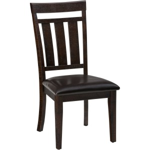 Kona Grove Upholstered Slat Back Dining Chair